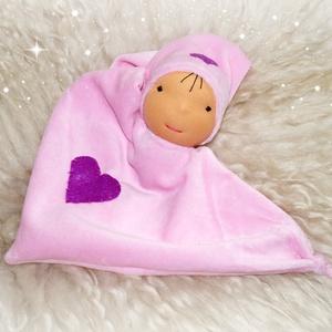Alvómanó, Gyerek & játék, Játék, Baba játék, Plüssállat, rongyjáték, Baba-és bábkészítés, Varrás, Alvómanó a legkisebbeknek.Újszülött kortól ajánlom ezt a kedves kis pihe puha manót.Sapkája rögzítet..., Meska