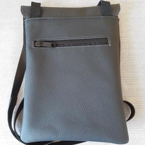 -25% Bőr kis táska fekete színben AKCIÓ!!!  - táska & tok - kézitáska & válltáska - vállon átvethető táska - Meska.hu