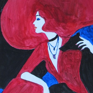 ABSZTRAKT -festmény AKCIÓBAN, Otthon & lakás, Képzőművészet, Festmény, Akril, Festészet, ABSZTRAKT festmény akrillal festve-fa lapon\nÉlénk színekkel megfestett dekoratív alkotás.\nMÉRETE:25x..., Meska