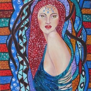 ÉRZELMEK VIHARÁBAN- ABSZTRAKT festmény, Olajfestmény, Festmény, Művészet, Festészet, Technika: olaj-fa lap\nMéret:45x32cm\nABSZTRAKT festmény.\nKERET NÉLKÜL ELADÓ!!!\nA képeken a keretek vi..., Meska
