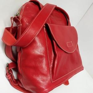 Háti/váll táska hamvas pirosból (itsevas) - Meska.hu