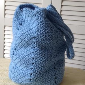 Kék táska - Meska.hu