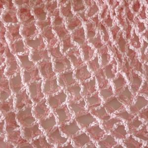 Rózsaszín francia szatyor (jakaba) - Meska.hu