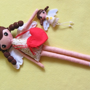 Nina és kis angyalkája (Jam81) - Meska.hu