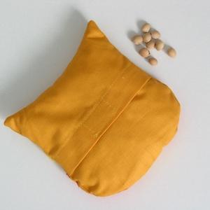 Bagoly doktor- meggymag párna (narancs-pöttyös) (Jam81) - Meska.hu