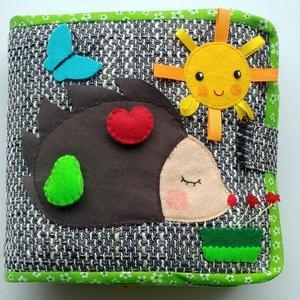 Sünis okoskönyv- készségfejlesztő, kreatív gyakorlókönyv AZONNAL VIHETŐ!!!, Gyerek & játék, Játék, Logikai játék, Készségfejlesztő játék, Mindenmás, Saját, egyedi tervezésű minta alapján készült játék, mely fejleszti a gyerekek kézügyességét, gondol..., Meska