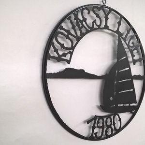 BALATON. Cégér, logó, dekoráció. (jamesz) - Meska.hu