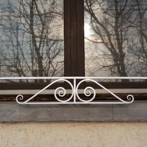 PÁRKÁNYFOGÓ II !, Otthon & Lakás, Ház & Kert, Kerti bútor, Fémmegmunkálás, Kovácsoltvas, Párkányfogó II. Az ablak párkányok hasznos kiegészítője lehet a párkány fogó. Megakadályozza a párká..., Meska
