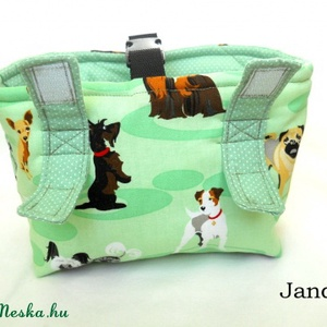 Kutyák - futóbicikli/biciklis táska gyerekeknek (Jando) - Meska.hu