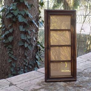 Képkeret-Fotókeret-4 db 9 x 13-as képhez-Pácolt dióbarna-77, Férfiaknak, Otthon & lakás, Dekoráció, Lakberendezés, Képkeret, tükör, Famegmunkálás, Kereteim fenyőfából készülnek. A munka során kialakul egy rusztikus, részletgazdag tárgy, aminek szi..., Meska