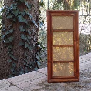 Képkeret-Fotókeret-4 db 9x13-as képhez-Pácolt cseresznye színű-78, Férfiaknak, Otthon & lakás, Dekoráció, Lakberendezés, Képkeret, tükör, Kereteim fenyőfából készülnek. A munka során kialakul egy rusztikus, részletgazdag tárgy, aminek szi..., Meska