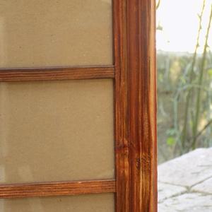 Képkeret-Fotókeret-4 db 9x13-as képhez-Pácolt cseresznye színű-78 (jani100) - Meska.hu