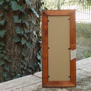 Képkeret-Fotókeret-10x29,7 cm-es képhez-Pácolt cseresznye színű-152 (jani100) - Meska.hu
