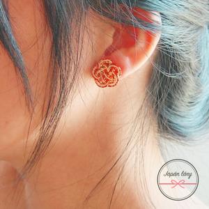 Japán Szilvavirág fülbevaló (2) (japanlany) - Meska.hu