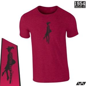 SRV Stevie Ray Vaughan PÓLÓ - POPKULT, divatos, menő viselet, Ruha & Divat, Mindenmás, Tavaszi-nyári könnyű viselet, menő mintával., Meska