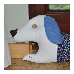 Huzatfogó kék - Méteres kutyus, nem csak kutya - barátoknak (jazmineslevendula) - Meska.hu