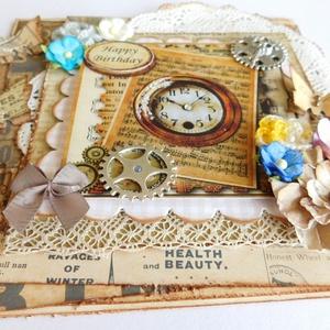 Szeretetem irántad a régi.... - vintage szülinapi képeslap - otthon & lakás - papír írószer - képeslap & levélpapír - Meska.hu