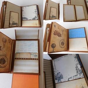 Egyedi, kézműves scrapbook útinapló- és fotóalbum (Jbgifts) - Meska.hu