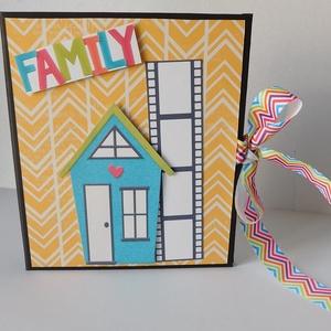 We are family- mini scrapbook fotó folio (Jbgifts) - Meska.hu