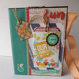 We are family - mini scrapbook fotó folio 2 (Jbgifts) - Meska.hu