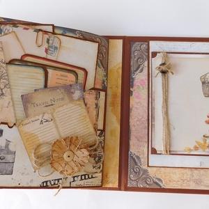 Utazási emlékeim - egyedi, kézműves vintage utazási fotóalbum- és napló (Jbgifts) - Meska.hu