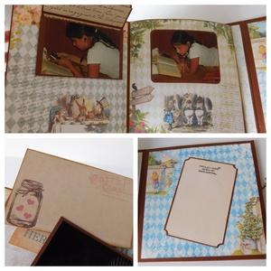 Ilyen vagyok! - egyedi, kézműves születésnapi scrapbook album (Jbgifts) - Meska.hu