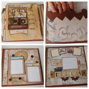 Boldog szülinapot, apa! - egyedi, kézműves scrapbook album (Jbgifts) - Meska.hu