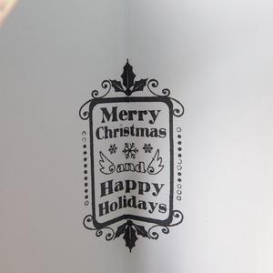 Shabby kézműves karácsonyi képeslap (Jbgifts) - Meska.hu