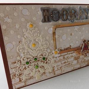 Kíváncsiskodók- egyedi, kézműves karácsonyi képeslap (Jbgifts) - Meska.hu