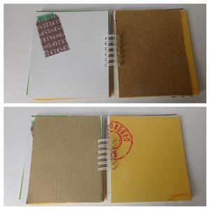 Egyedi, kézműves titok napló, jegyzetfüzet, mindenes, rajzfüzet (Jbgifts) - Meska.hu