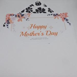 Amerikai stílusú, modern, virág mintás anyák napi képeslap (Jbgifts) - Meska.hu