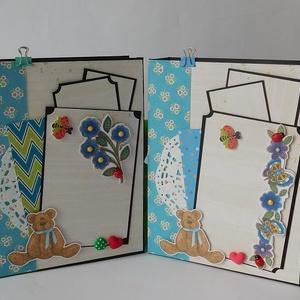 Egyedi, kézműves ovis ballagásra készülő scrapbook fotóalbum csomag pedagógusoknak dajka néniknek idézettel   (Jbgifts) - Meska.hu