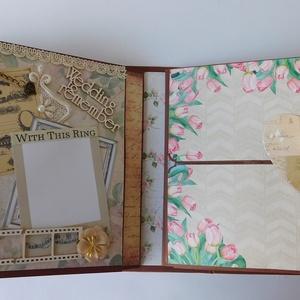 A mi családunk 2 - egyedi, kézműves, interaktív scrapbook album esküvőre, évfordulóra, születésnapra, vintage, scrapbook (Jbgifts) - Meska.hu