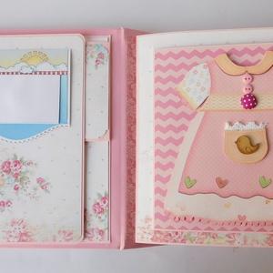 Már 10 vagyok! - egyedi, kézműves kislány születésnapi scrapbook album, baba, baby, scrapbook,  (Jbgifts) - Meska.hu