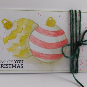 Karácsony - Karácsony 2018 - egyedi, kézműves karácsonyi képeslap és pénzátadó szett. karácsony, Christmas card (Jbgifts) - Meska.hu