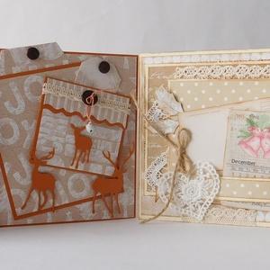 Karácsonyi képeslap csomag - egyedi, kézműves karácsonyi képeslapok. karácsony, Christmas cards, Otthon & Lakás, Karácsony & Mikulás, Karácsonyi képeslap, Papírművészet, A Karácsony 2020 képeslapsorozatom annyira egyedi, hogy a sorozatban lévő minden képeslapból egyetle..., Meska