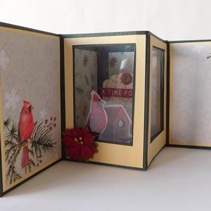 Karácsonyi pop up képeslap  - egyedi, kézműves karácsonyi képeslapok. karácsony, Christmas cards, Otthon & Lakás, Karácsony & Mikulás, Karácsonyi képeslap, Papírművészet, A Karácsony 2020 képeslapsorozatom annyira egyedi, hogy a sorozatban lévő minden képeslapból egyetle..., Meska