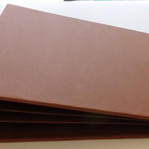 Scrapbook album és fólio alap 6 belső oldallal barna színben, Otthon & lakás, Naptár, képeslap, album, Fotóalbum, Jegyzetfüzet, napló, Papírművészet, Scrapbook album és fólio alap 6 belső oldallal barna színben 21 cm x 21 cm-es méretben.\nAz album bor..., Meska