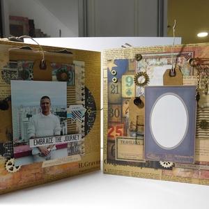 All about me - scrapbook album, birthday album - Meska.hu