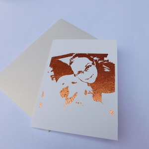 All about me- egyedi kézműves fóliázott képeslap fotó alapján, foil card, Otthon & Lakás, Papír írószer, Képeslap & Levélpapír, Egyedi, kézműves képeslapot készítek az általad küldött fotó alapján. A képeslap alapja 220 grammos ..., Meska