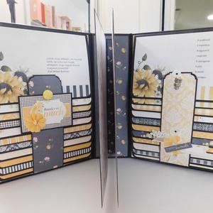 Wildflowers- iskolai ballagó fotóalbum, Otthon & Lakás, Ovi- és sulikezdés, Papír írószer, Album & Fotóalbum, Nagyon szép, iskolai ballagó fólio- fotóalbumot készítettem, melyet a szülők adhatnak emlékbe a taná..., Meska