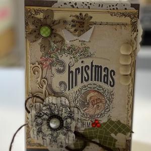 Karácsonyi képeslap csomag  2 2021 - egyedi, kézműves karácsonyi képeslapok. karácsony, Christmas cards, Karácsony, Papírművészet, Meska