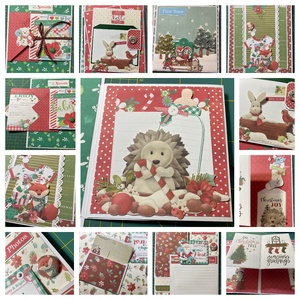 My First Christmas - egyedi, kézműves interaktív scrapbook album - Meska.hu