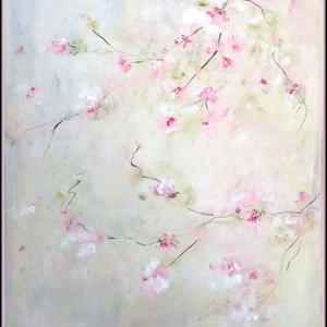 Vintage festmény, Képzőművészet, Otthon & lakás, Festmény, Akril, Festészet, akril 40x30 cm feszített vásznon\nMérete miatt csomagként lehet küldeni., Meska