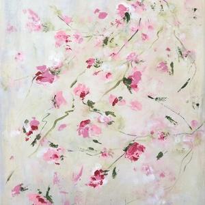 Vintage    festmény, Otthon & lakás, Képzőművészet, Festmény, Akril, Festészet, 40 x 30 cm feszített vászonra készült akril festmény, Meska