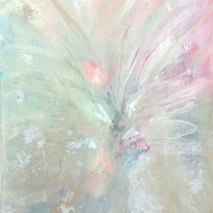 Reményvirág, Művészet, Festmény, Akril, Festészet, 29,5 x 21 cm akril absztrakt festmény., Meska