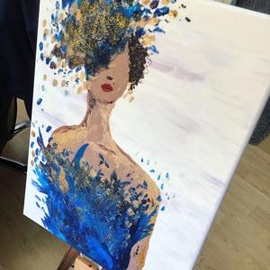 Madam fashion Art paint, Otthon & lakás, Képzőművészet, Festmény, Akril, Dekoráció, Napi festmény, kép, Festészet, Egy szintén divatos kép ...   #egy divatos otthon szép dekorációja ...   :) egy modern környezetbe ...., Meska