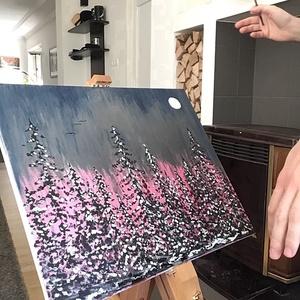 Panorama  Art paint ( janosszecsi ), Otthon & lakás, Képzőművészet, Festmény, Akril, Dekoráció, Napi festmény, kép, Festészet, Egy szintén divatos kép ...#  panorama picture  #egy otthon szép dekorációja ...   :) egy modern kör..., Meska