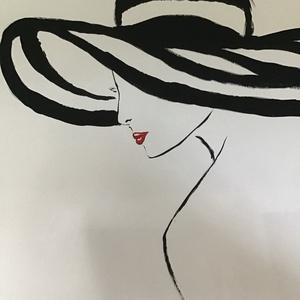Fashion Art paint plakátok ( janosszecsi ), Otthon & lakás, Képzőművészet, Festmény, Akril, Dekoráció, Napi festmény, kép, Festészet, Egy szintén divatos kép ...#  plakátok egyénileg tetszés szerint (az ár db nem mind a négy együtt ) ..., Meska
