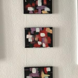 Abstract 3 db kép együtt ( janosszecsi ), Művészet, Festmény, Akril, Festészet, Egy szintén divatos kép ...#  Abstract Art   #egy otthon szép dekorációja ...   :) egy modern környe..., Meska